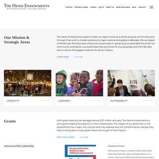 Heinz Endowments - Home