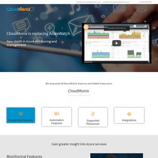 CloudMonix AzureWatch Azure monitoring automation auto-scaling