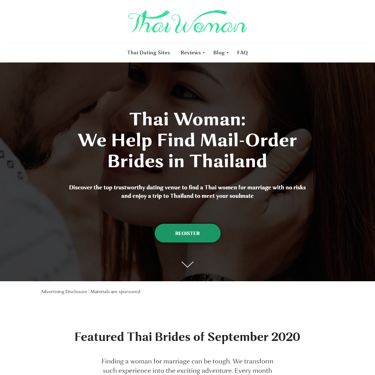 Thai Mail-Order Brides - Meet a Woman for Marriage From Thailand