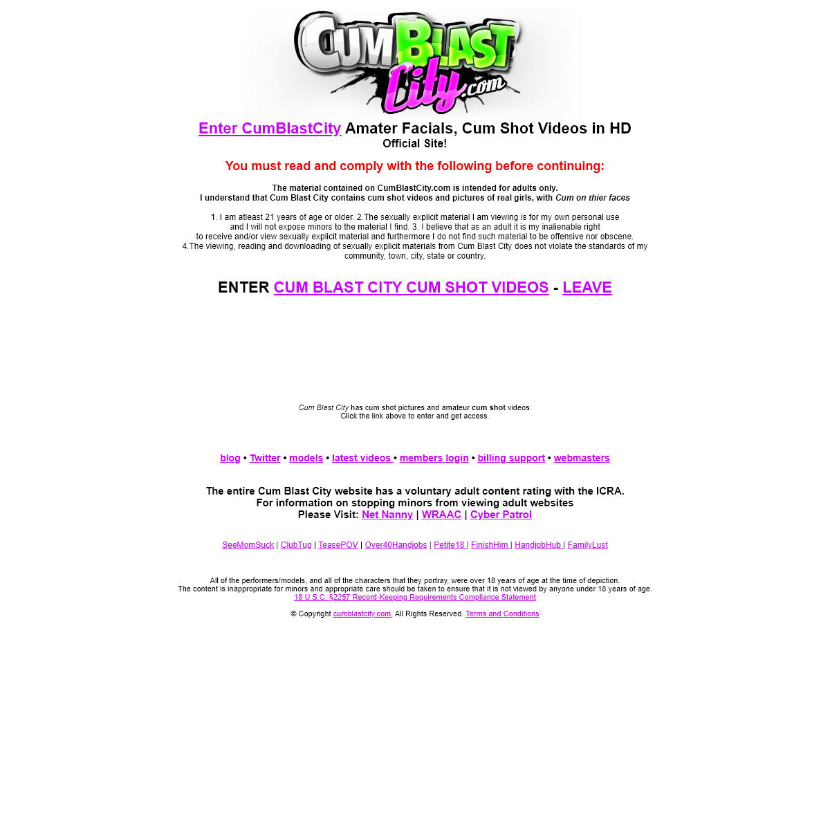 A complete backup of www.www.cumblastcity.com