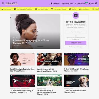 Template7 -Free & Premium Templates Blog