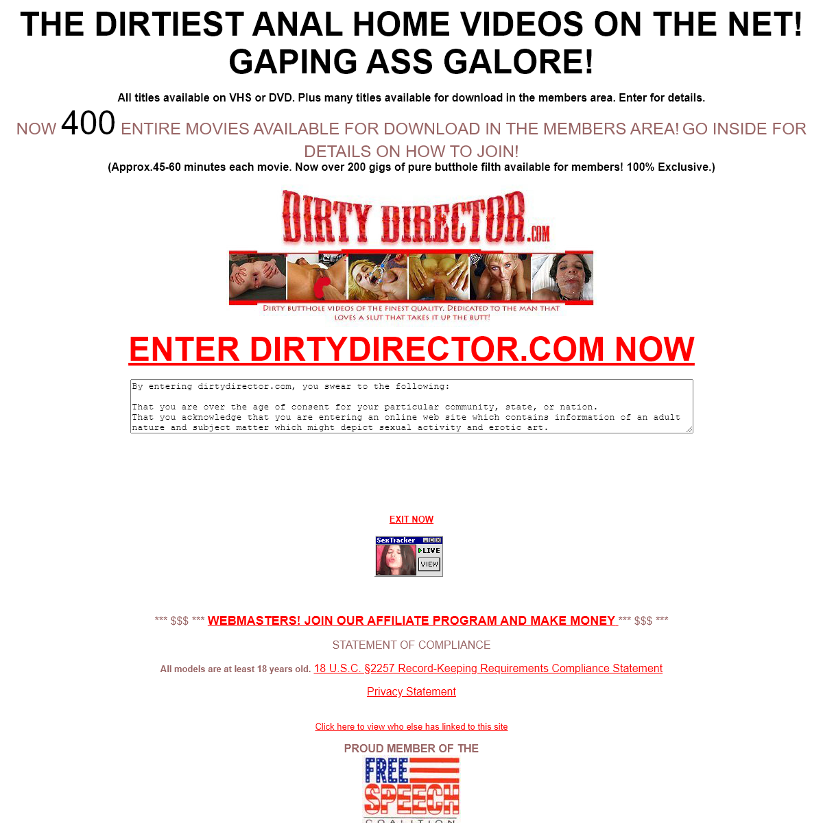 A complete backup of www.dirtydirector.com