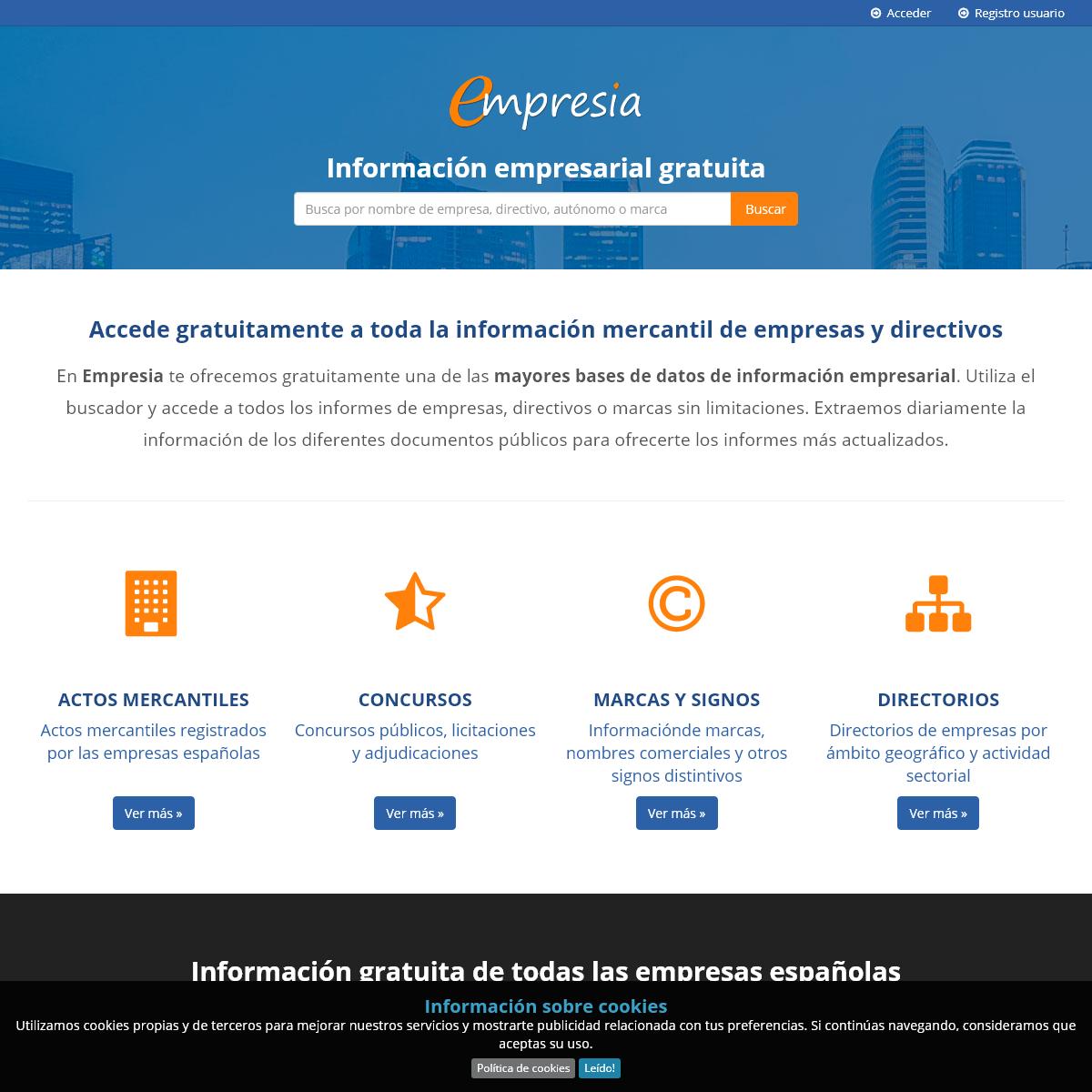 Empresia.es - Informes mercantiles de empresas