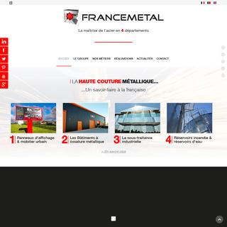 Tôlerie Industrielle - Pliage & Découpe de l`Acier - FranceMetal