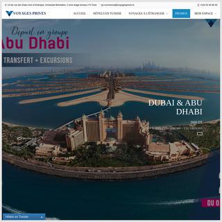 Voyages Privés- Agence de Voyages en Tunisie