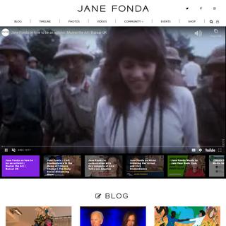 Home - Jane Fonda Official Site