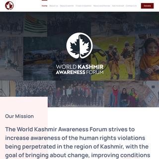 World Kashmir Awareness – Just another WordPress site