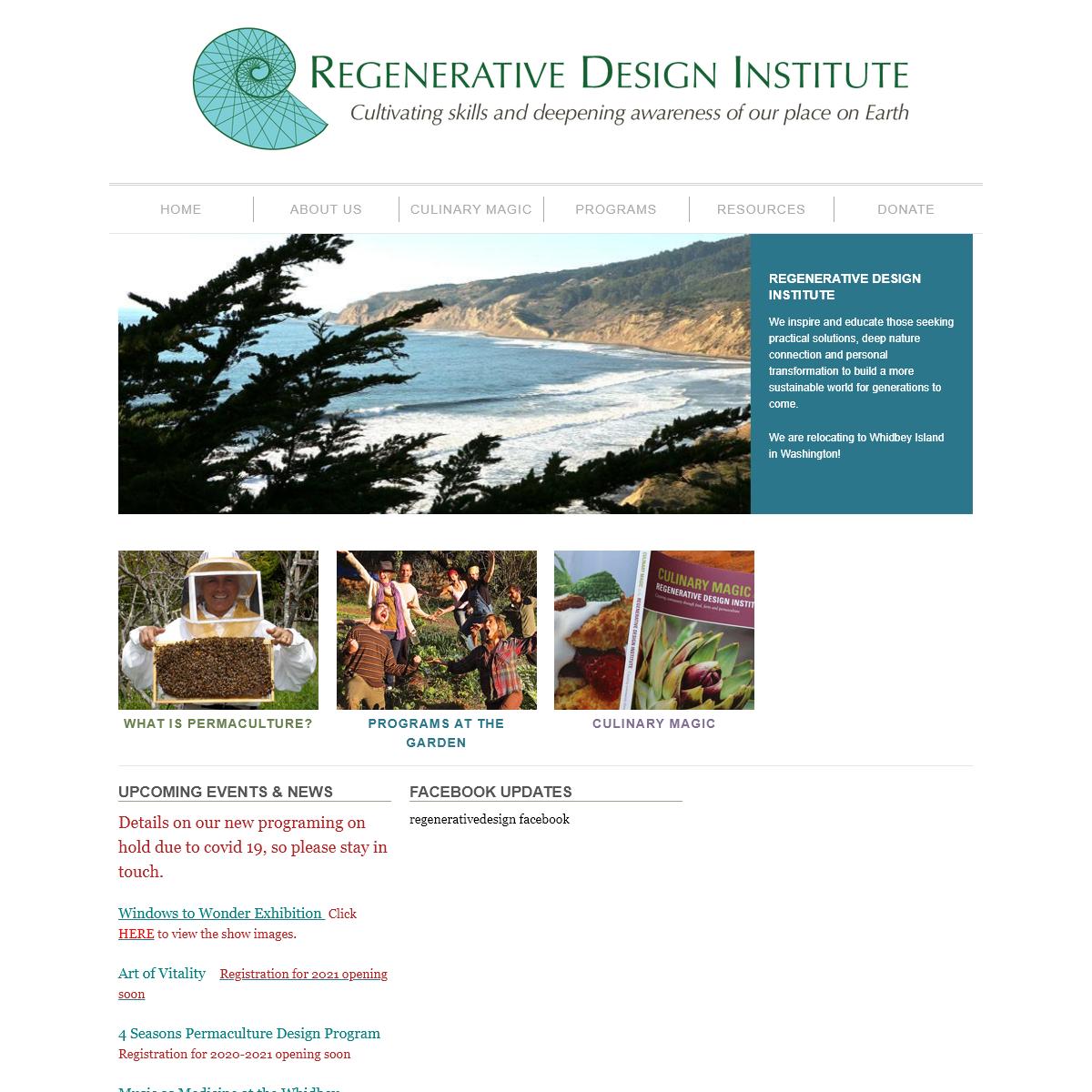 Regenerative Design Institute at Commonweal Garden - Permaculture in Action