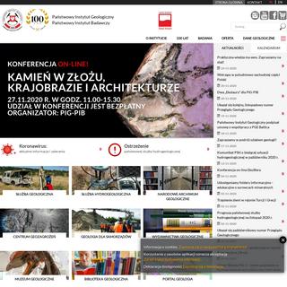 Badania geologiczne - Państwowy Instytut Geologiczny - PIB