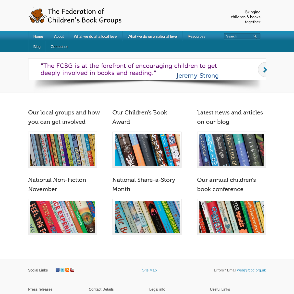 Federation of Children`s Book Groups - Bringing children and books together