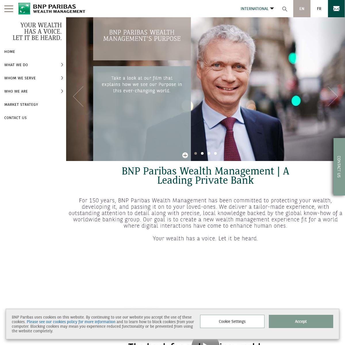 BNP Paribas Wealth Management - A Leading Private Bank