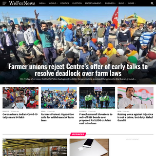 WeForNews - Latest News