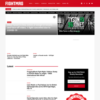 FIGHTMAG - fight news, results, live blogs, photos and videos