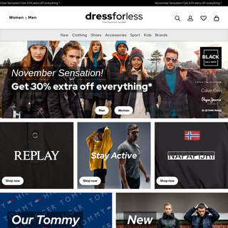 Your designer outlet for fashion with up to 70- discount - DRESS-FOR-LESS
