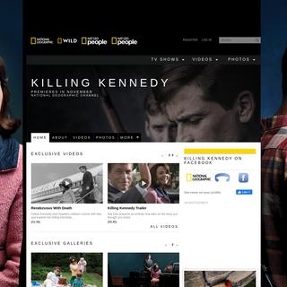 Killing Kennedy - National Geographic Channel - International