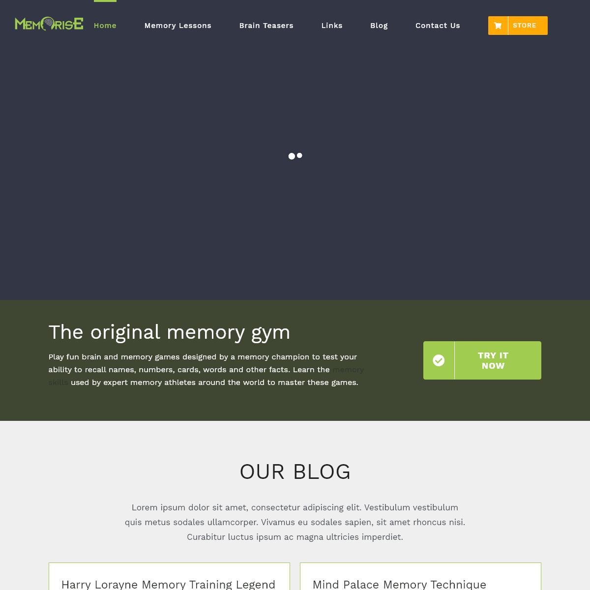 Professional Memory Recall Training Games & Videos - Memorise