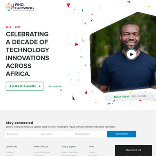 Ten - Co-Creation Hub Nigeria (CcHUB) - Co-Creation Hub Nigeria (CcHUB)