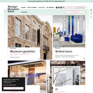 Het grootste designmuseum in België - Design Museum Gent