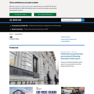 Cabinet Office - GOV.UK
