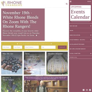 Homepage - Rhone Rangers