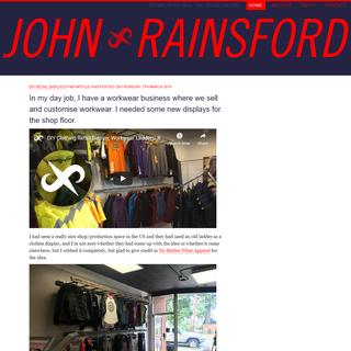 John Rainsford- Homepage