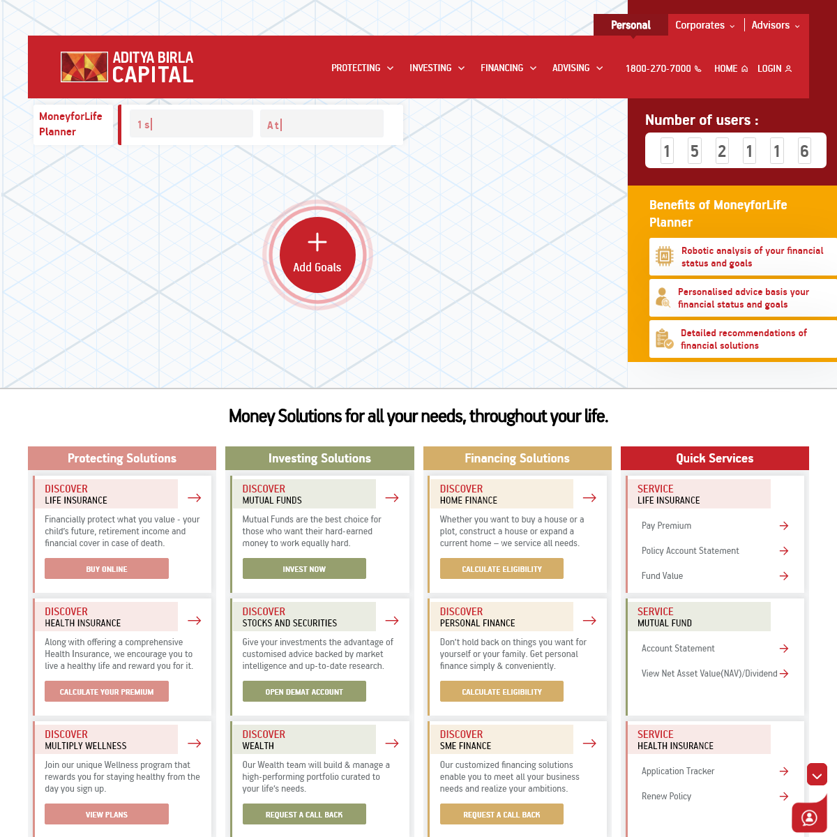 Financial Solutions - Financial Services Providers in India - Aditya Birla Capital