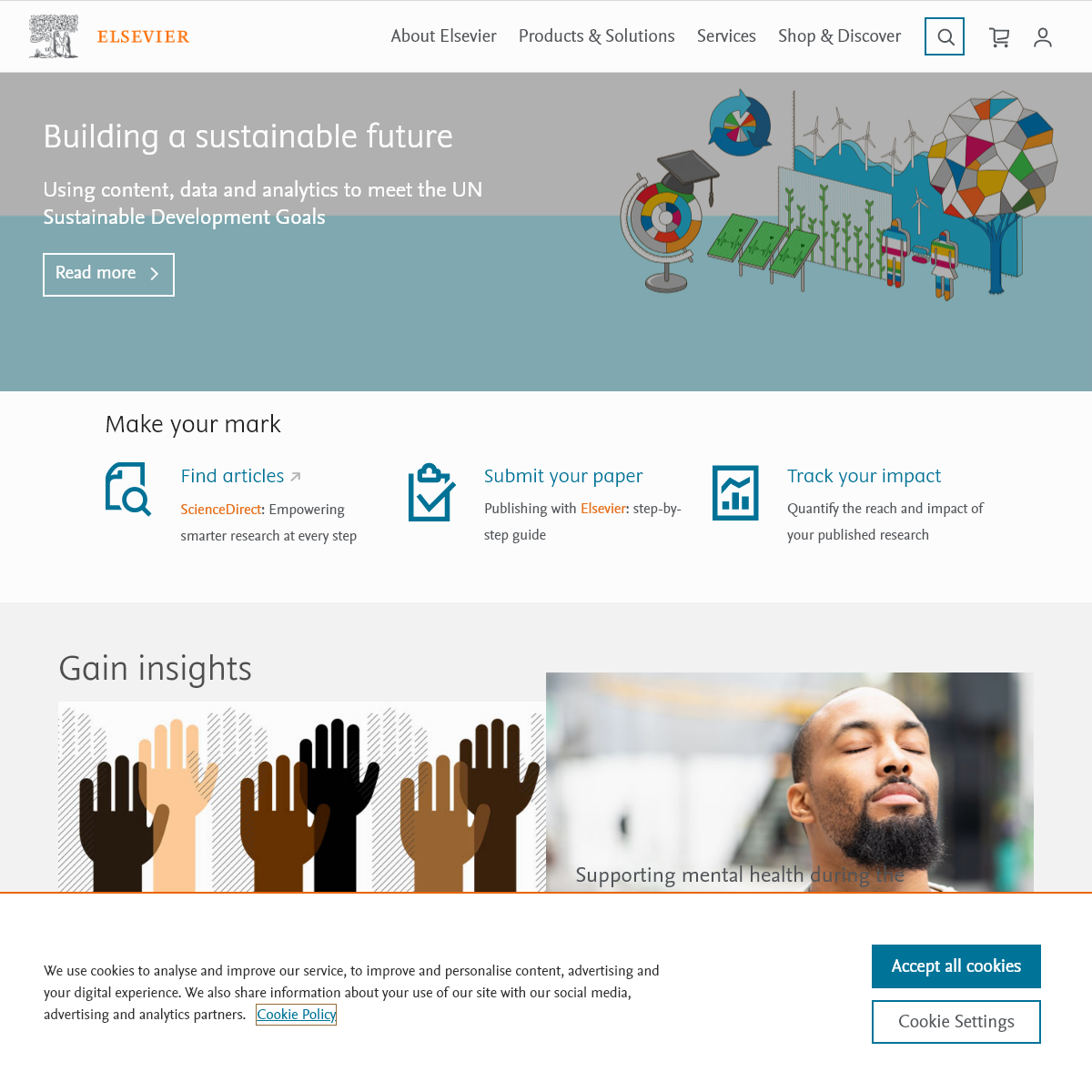 Elsevier - An Information Analytics Business - Empowering Knowledge