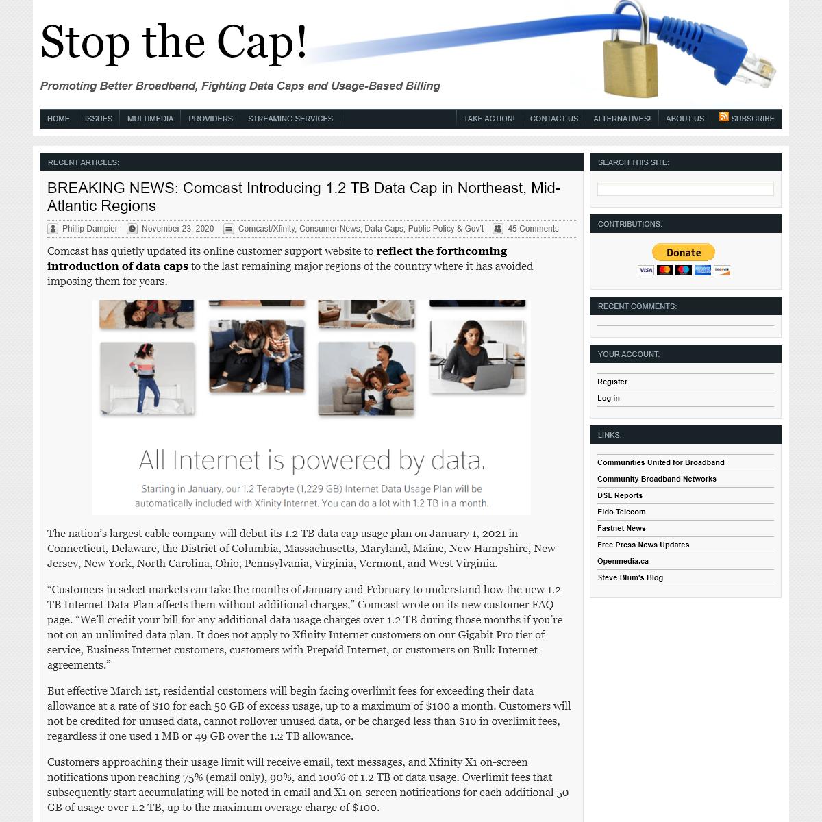 Stop the Cap!