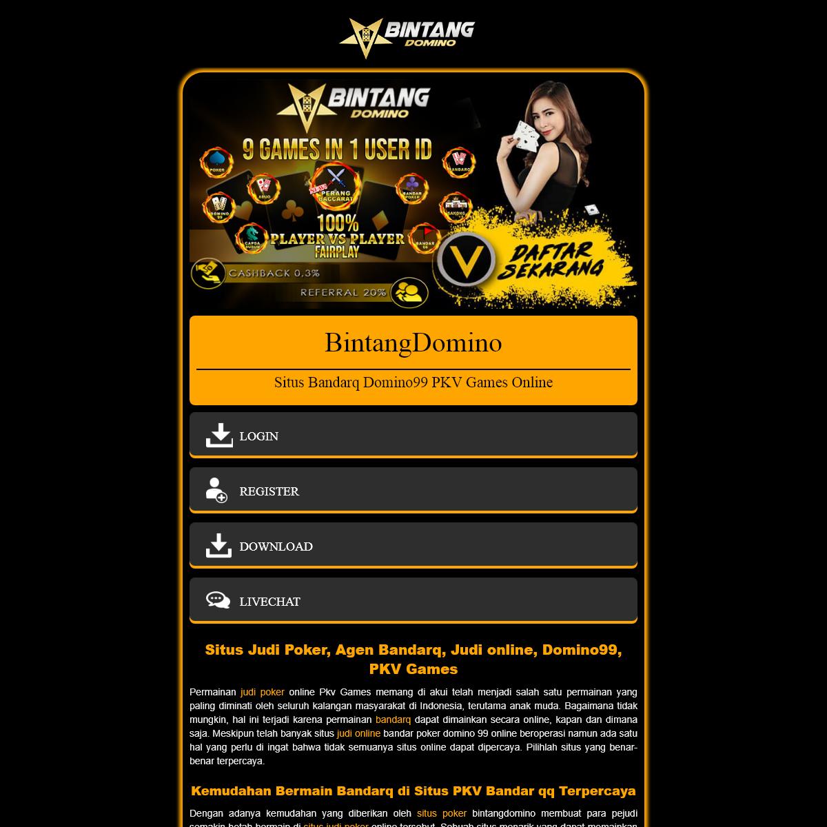 Situs Judi Poker, Agen Bandarq, Judi online, Domino99, PKV Games