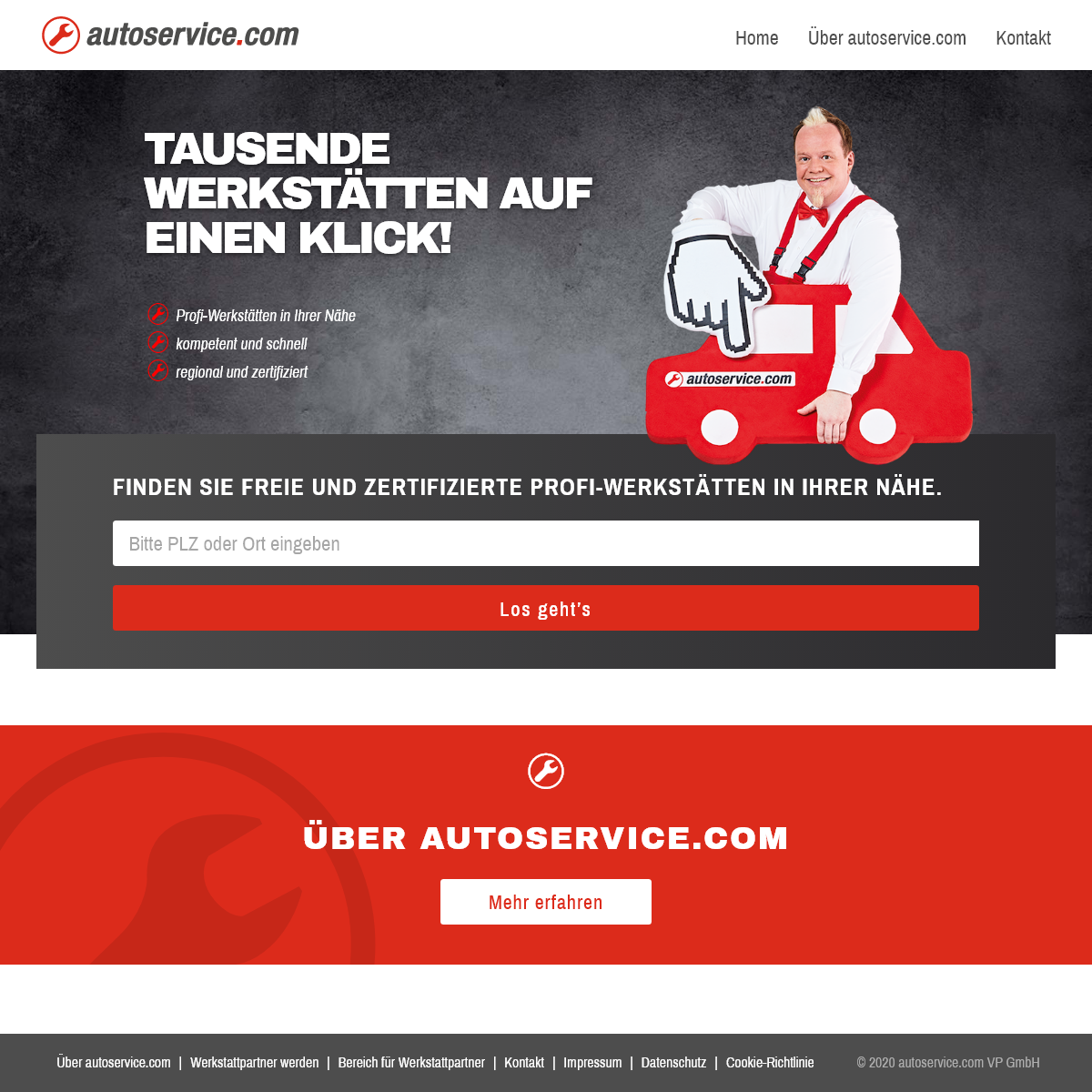 Werkstattsuche - Kfz-Werkstatt finden auf autoservice.com