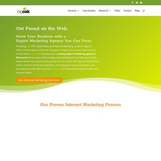 Richmond Digital Marketing, SEO, PPC, SEM - 804-741-6776 - Big Oak
