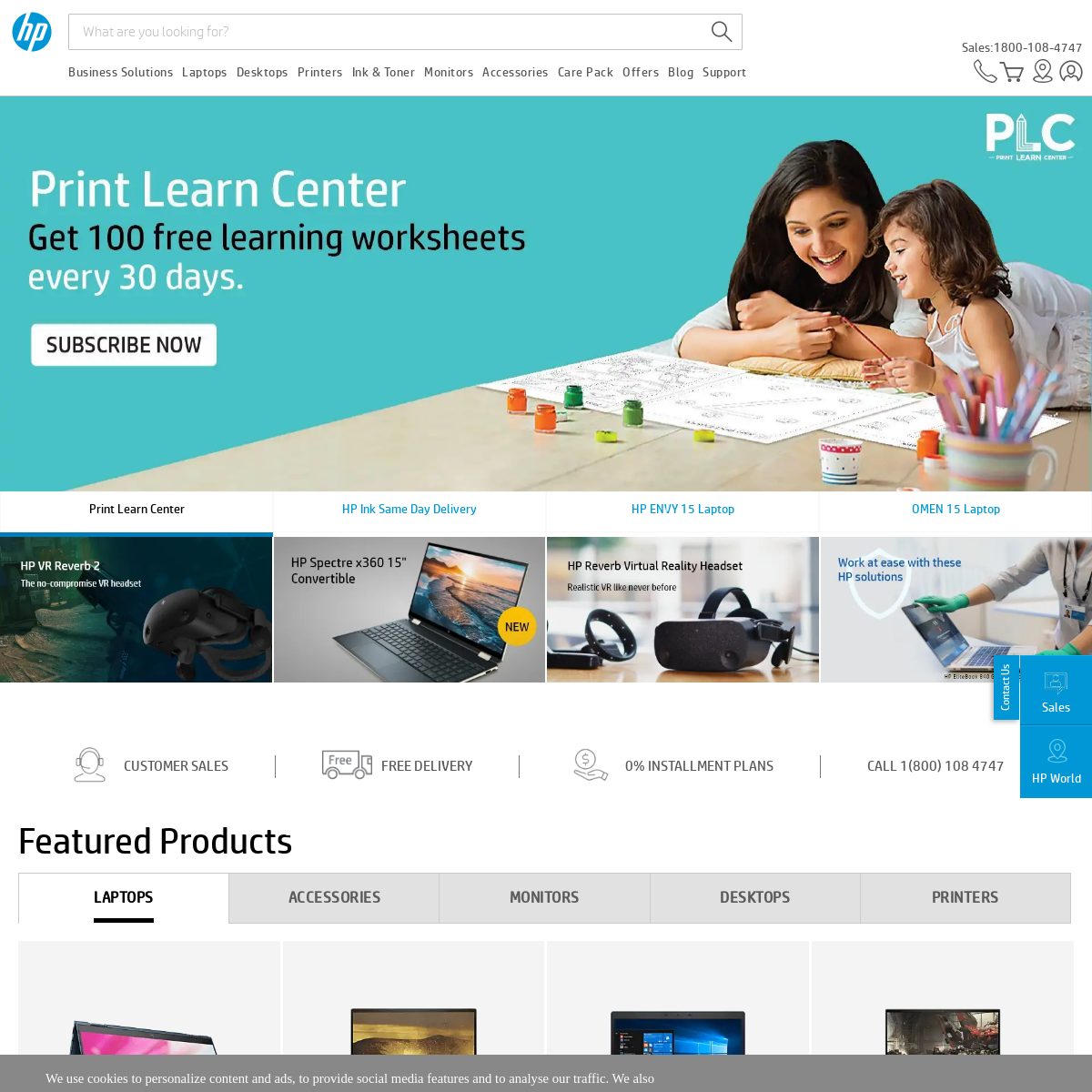 Official HP India Store for Laptop, Printer & Ink - HP Online Store