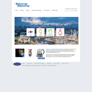 Edwards Signaling - Audible & Visual Signals - Fire alarm and Warning systems