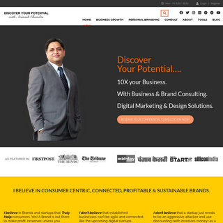 Discover your Potential with Avinash Chandra - Build your Business or Career