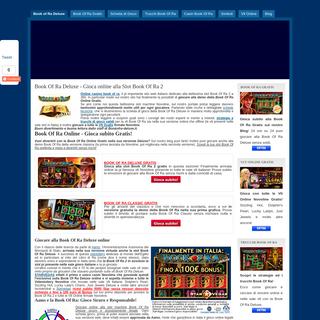 Book Of Ra Deluxe - Gioca online alla Slot Book Of Ra 2 - Bookofraonlinegratis.com