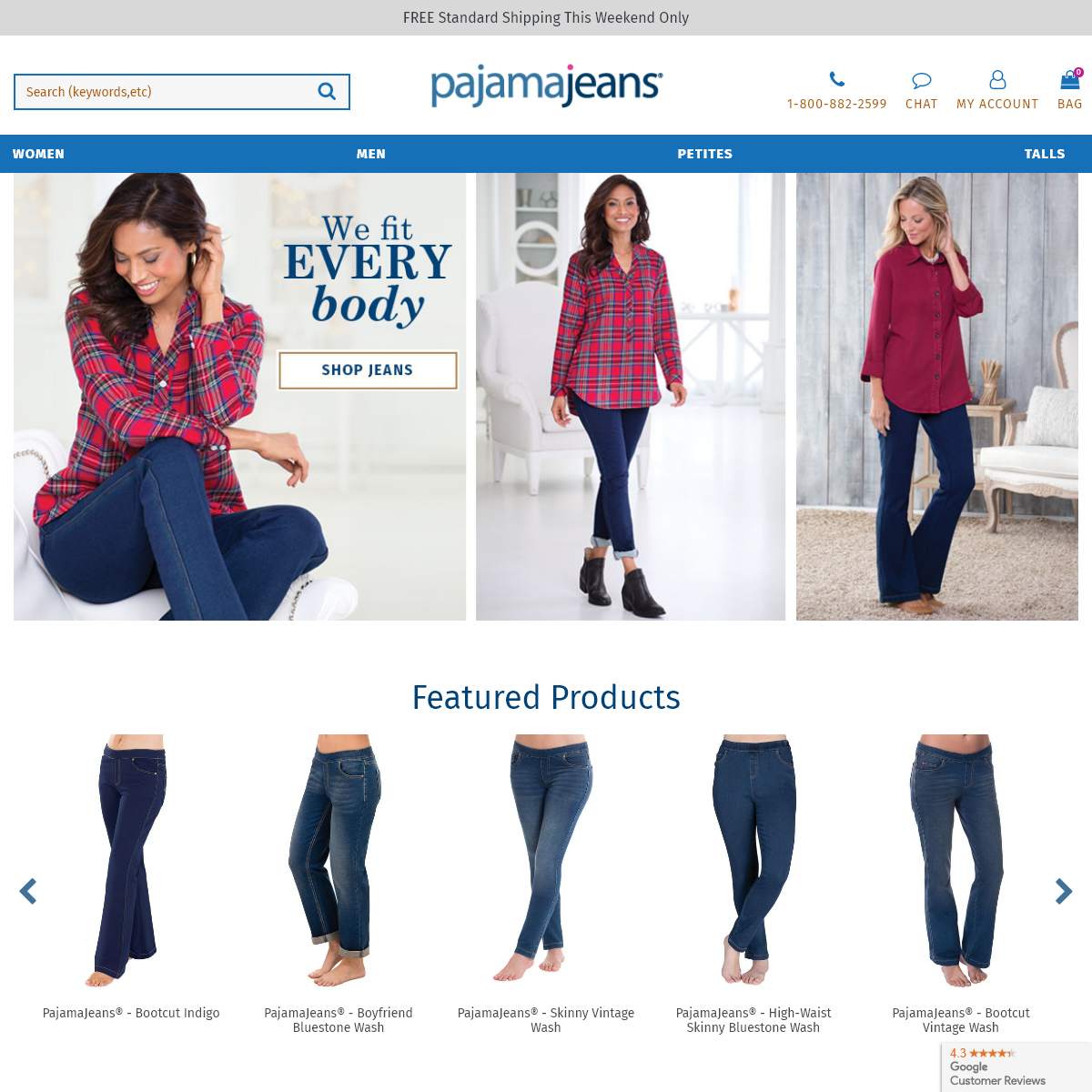 Official Site of PajamaJeans® - Pajamas you live in, Jeans you sleep in® - PajamaJeans
