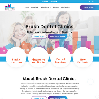 Brush Dental Clinics - Dentists in Greater Toronto Area & Southern Ontario