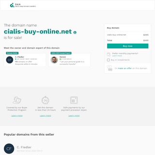 The domain name cialis-buy-online.net is for sale