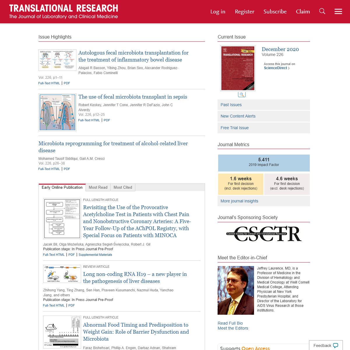 Home Page- Translational Research