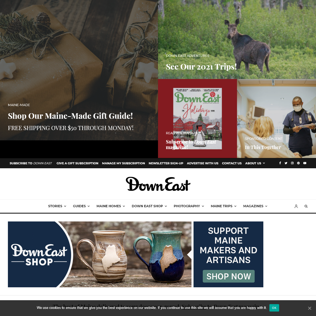 Experience the Best of Maine - Down East Magazine