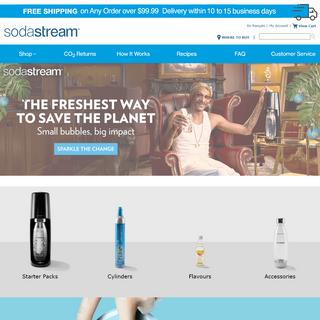 Home Page - SodaStream Canada