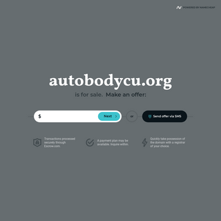 autobodycu.org is for sale