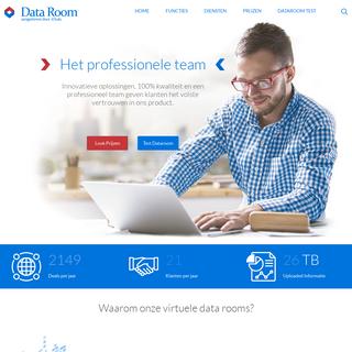 Virtuele Dataroom Provider - Data-Room.nl