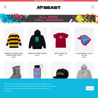 Mr Beast - Official Storefront - MrBeast Official
