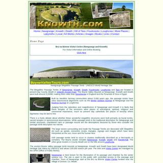 Newgrange, Knowth, Dowth, Tara - Boyne Valley, Ireland