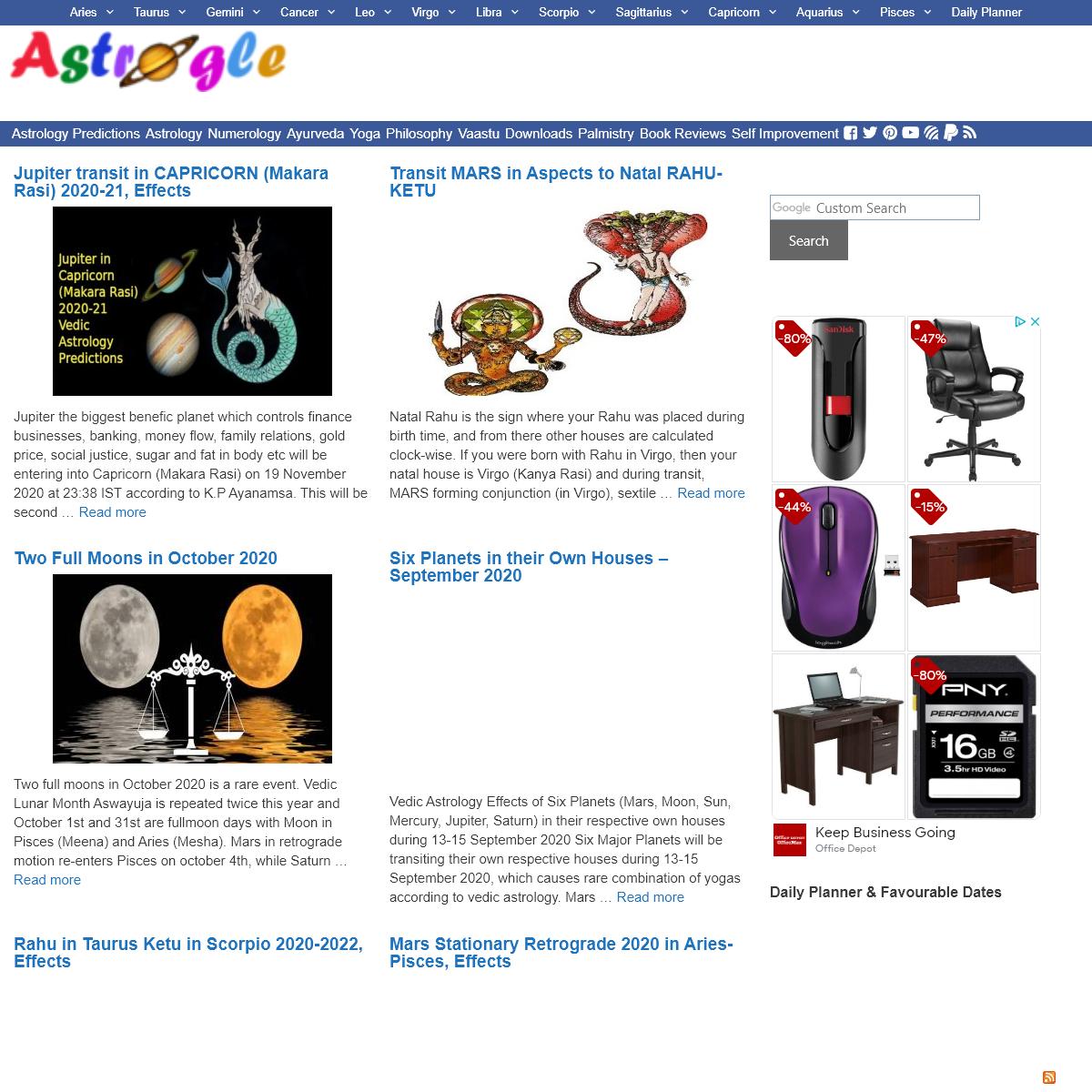 Vedic Astrology & Ayurveda - Yoga, Vaastu, Numerology, Self Improvement etc