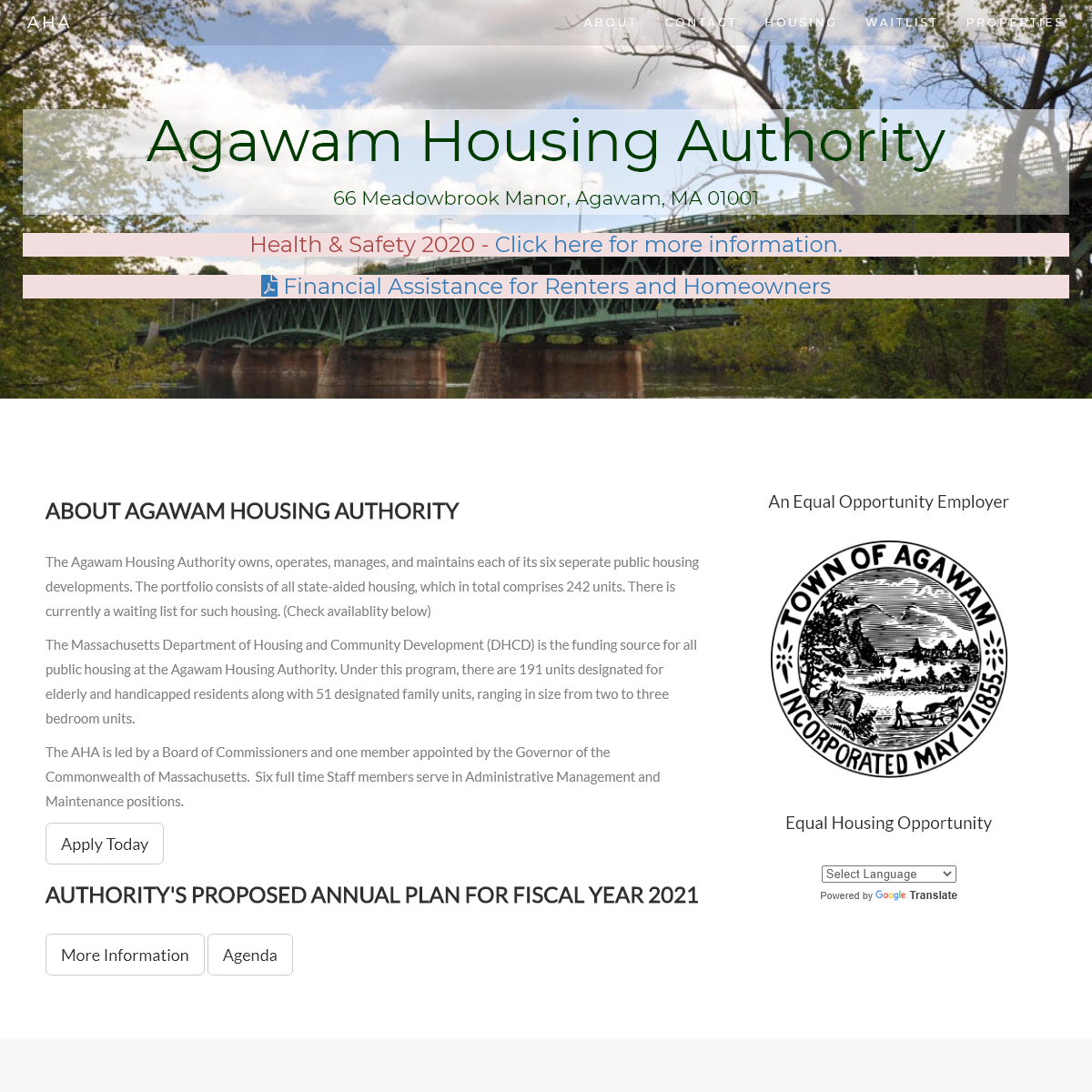 Agawam Housing Authority