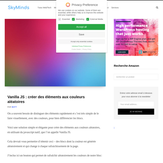 SkyMinds ~ by Matt - sysadmin, WordPress engineer, formateur