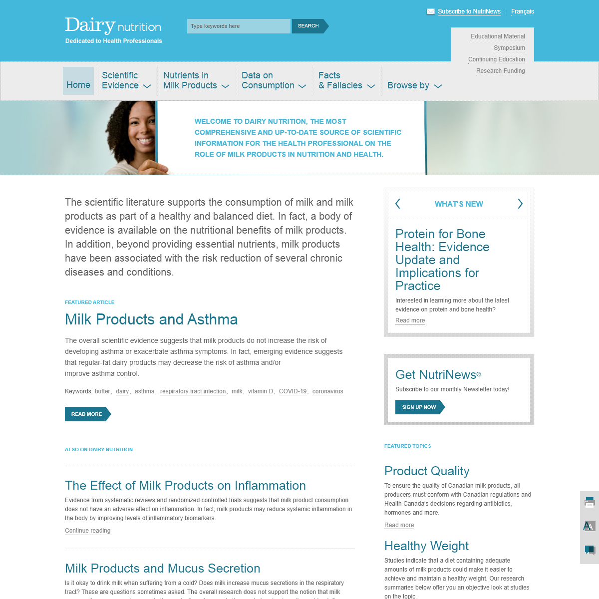 Dairy Nutrition