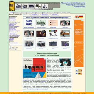 Collection d`appareils photo argentique - Camera collection - Photo argentique
